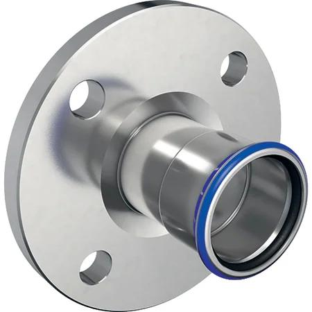 Geberit Mapress Stainless Steel flange pn 10/16, with pressing socket